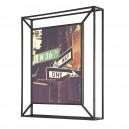 Cadre photo métal noir à poser ou à suspendre Umbra Matrix 20 x 25 cm